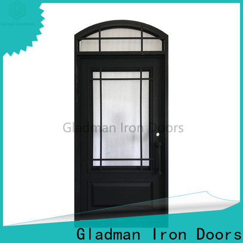 Gladman wrought iron security doors factory for sale