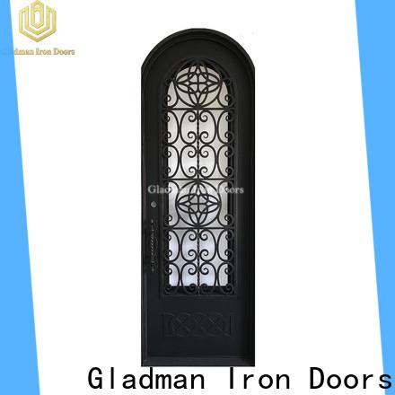 Gladman high quality single iron door design factory