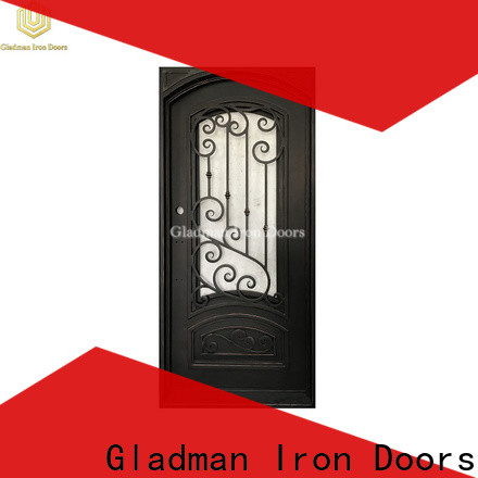 Gladman single iron door design one-stop services for sale