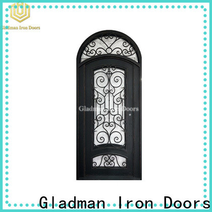 Gladman high quality wrought iron security doors supplier