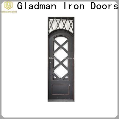 Gladman single iron door design manufacturer