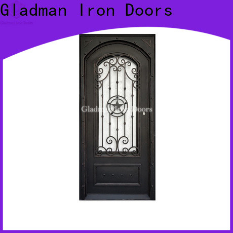 100% quality wrought iron doors one-stop services for sale