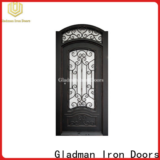 Gladman high quality wrought iron doors manufacturer