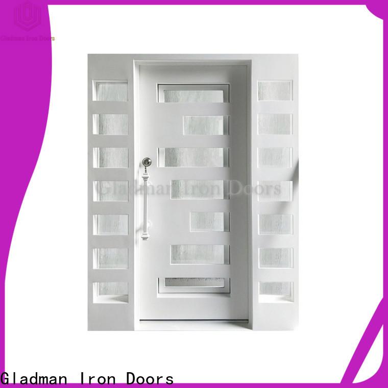 Gladman single iron door design factory for sale
