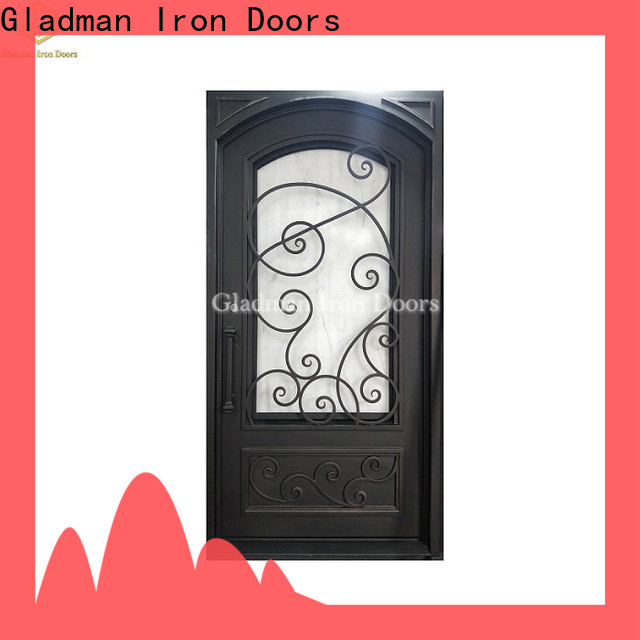Gladman single iron door design manufacturer