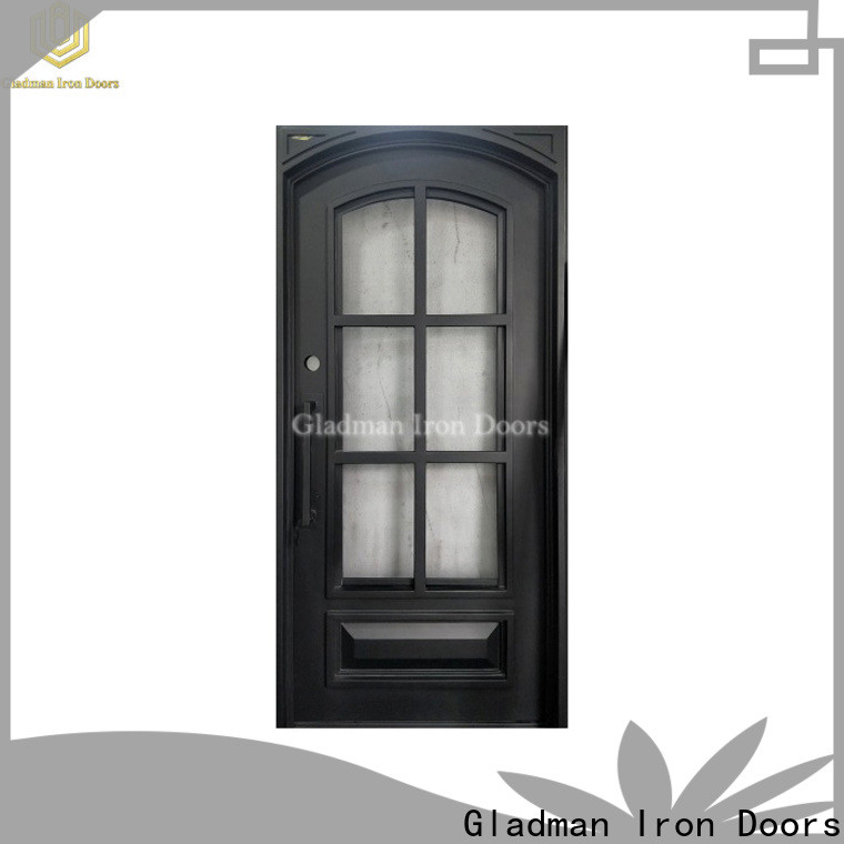 Gladman wrought iron doors manufacturer for sale