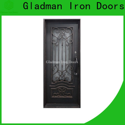 Gladman wrought iron doors one-stop services