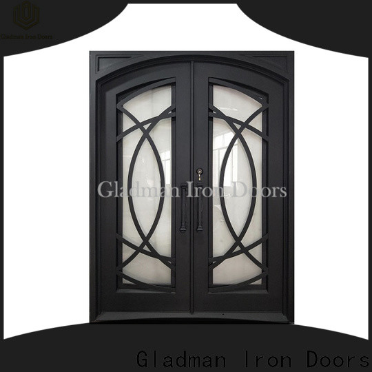 Gladman modern style double front doors one-stop services for sale