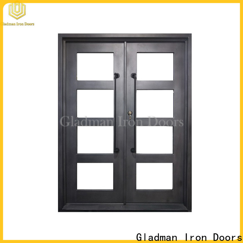 Gladman classic wrought iron door one-stop services for sale