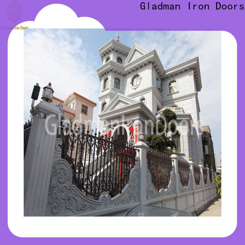 Gladman 2020 aluminium fence factory