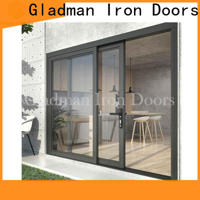 Gladman affordable Al-alloy door & windows fast shipping for distribution