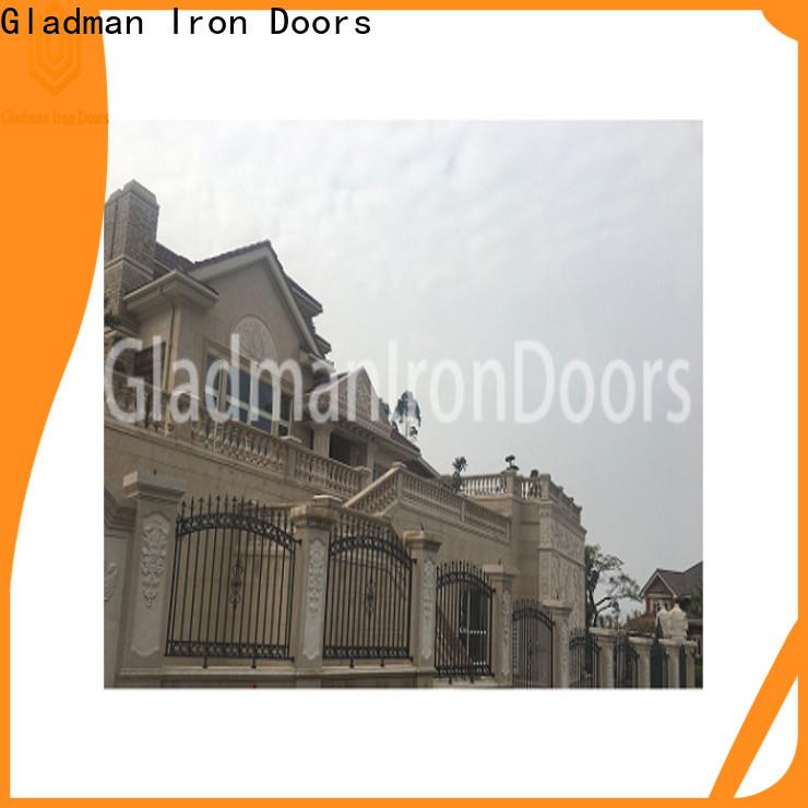 Gladman aluminium fence panels wholesale