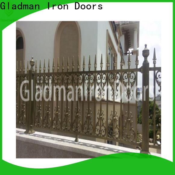 Gladman custom aluminium fence panels manufacturer