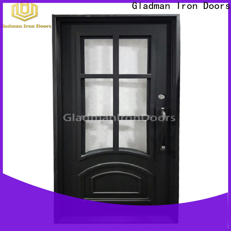 Gladman high-end quality single iron door design one-stop services for sale
