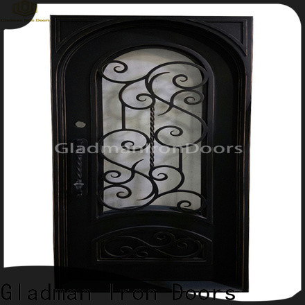 high-end quality wrought iron security doors manufacturer for sale