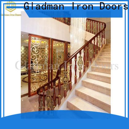 Gladman aluminum porch railing manufacturer