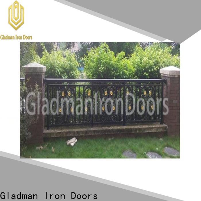 Gladman custom aluminium fence panels wholesale