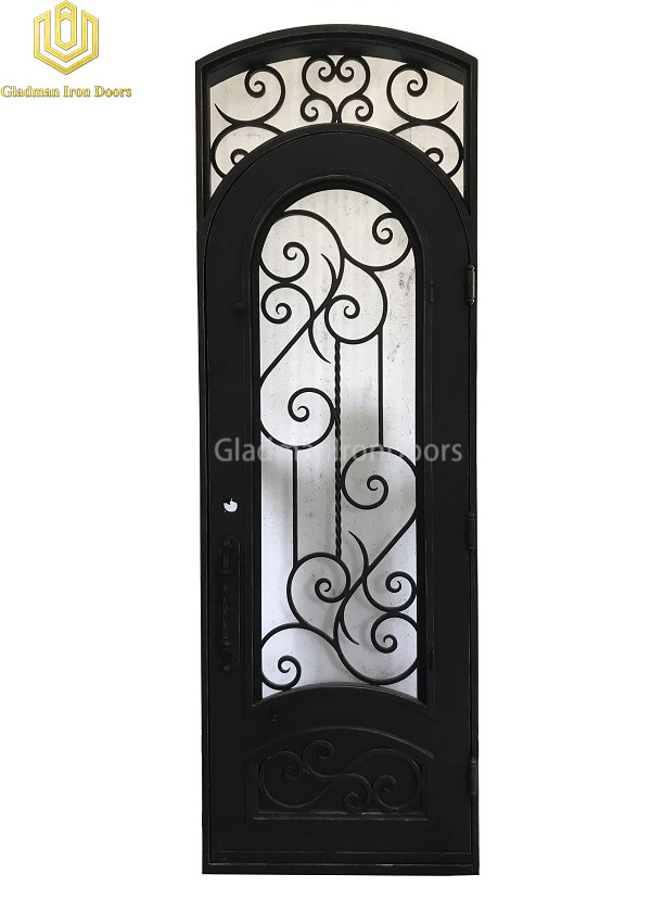 Single Aluminum Front Door