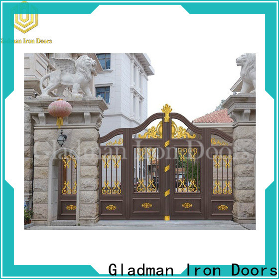 high quality aluminium slat gates factory
