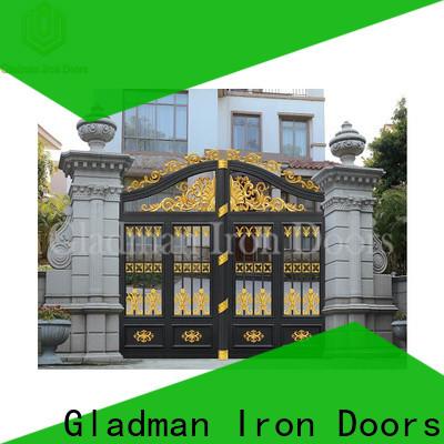 custom aluminum fence gate factory