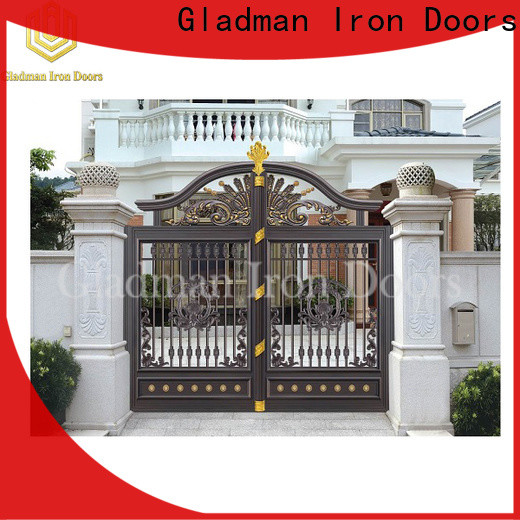 custom aluminium slat gates factory