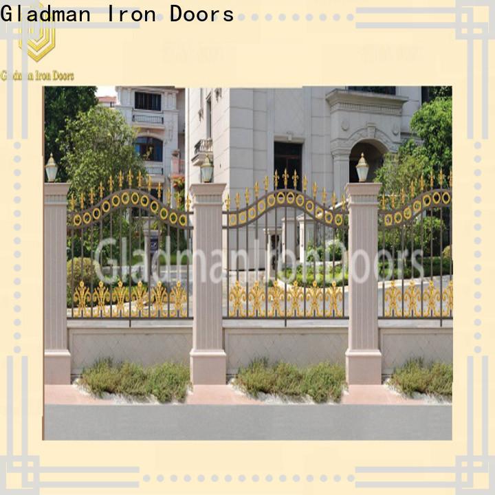 2020 aluminum fence panels factory