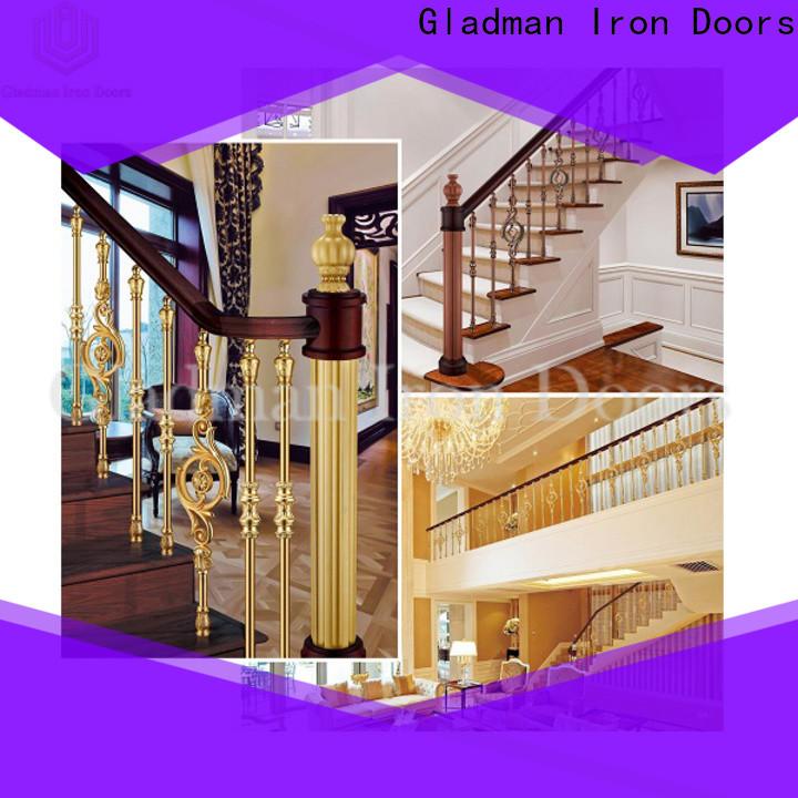 Gladman aluminum stair railing manufacturer