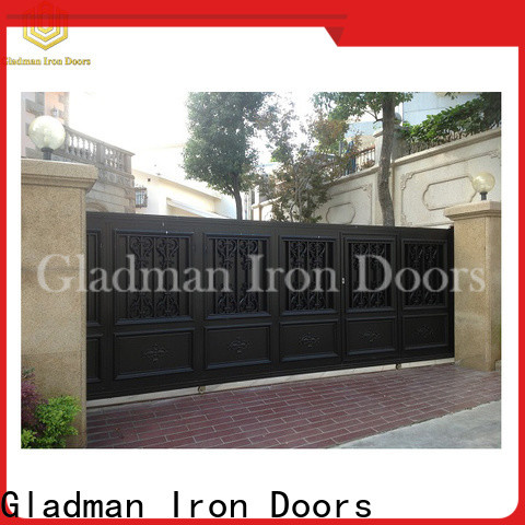 Gladman new aluminium slat gates wholesale
