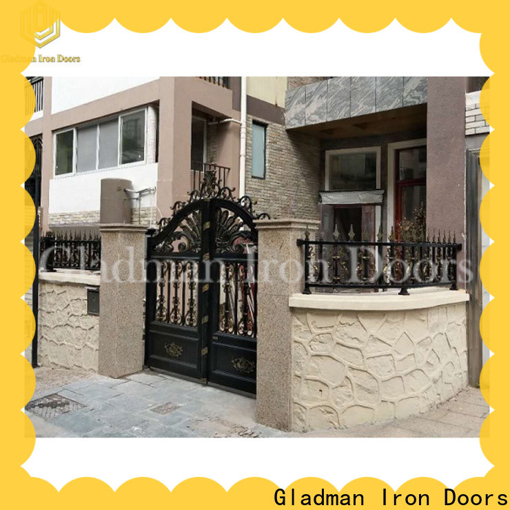 Gladman new aluminum fence gate wholesale