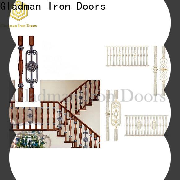 Gladman aluminum porch railing factory