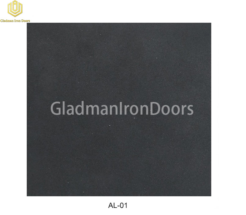 Aluminum Exterior Door Hardware AL-01 Option