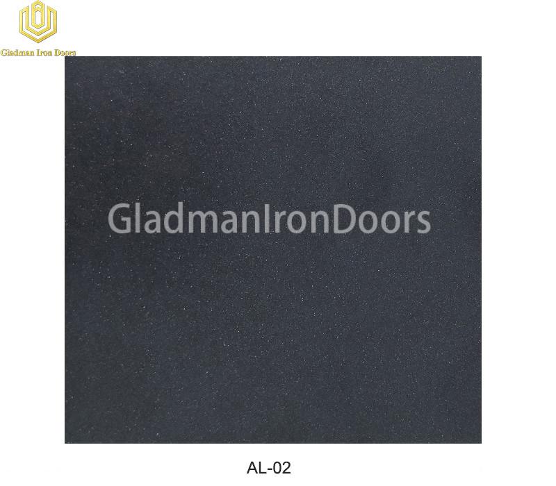Aluminum Exterior Door Hardware AL-02 Option