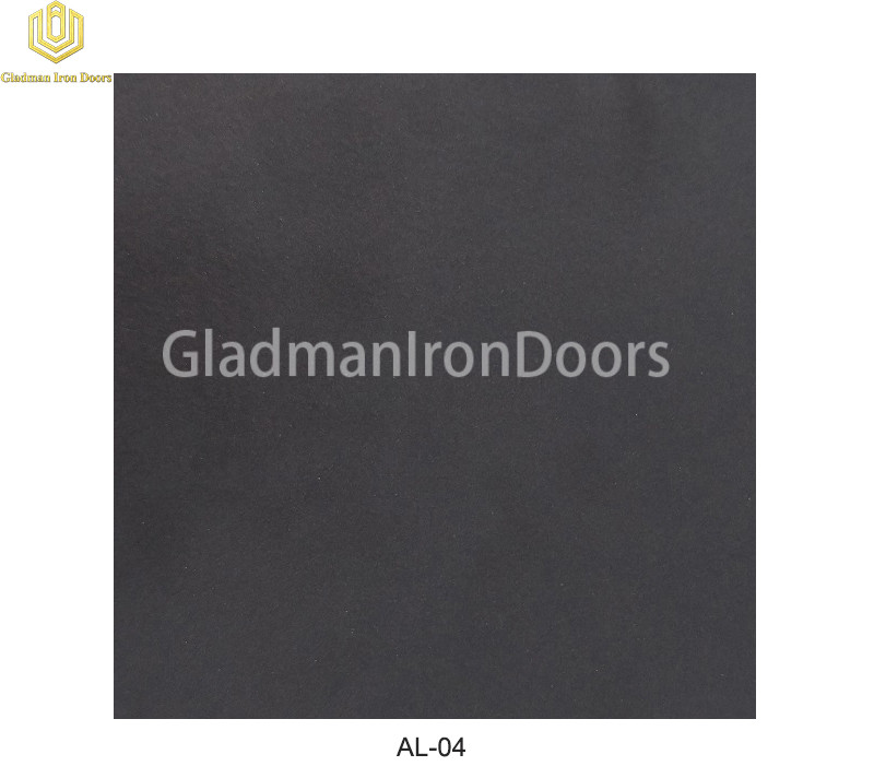 Aluminum Exterior Door Hardware AL-04 Option