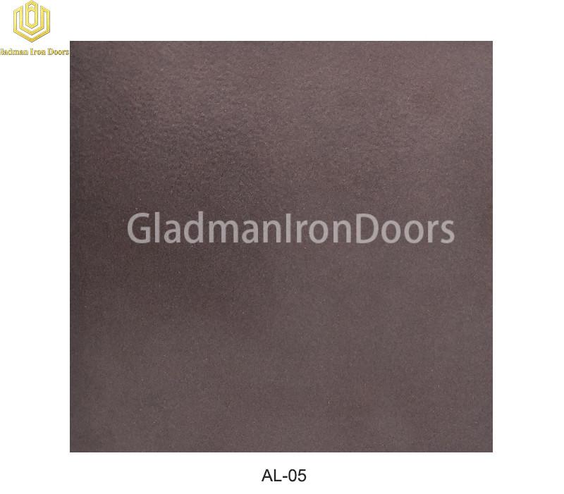 Aluminum Exterior Door Hardware AL-05 Option