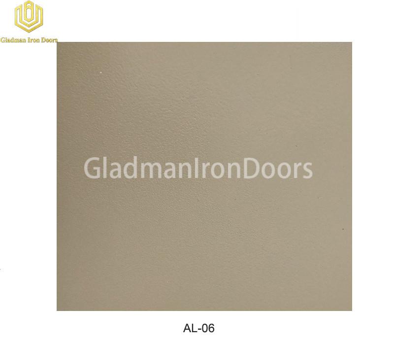 Aluminum Exterior Door Hardware AL-06 Option