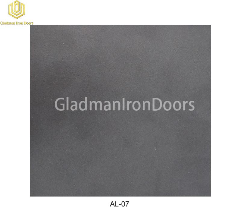 Aluminum Exterior Door Hardware AL-07 Option