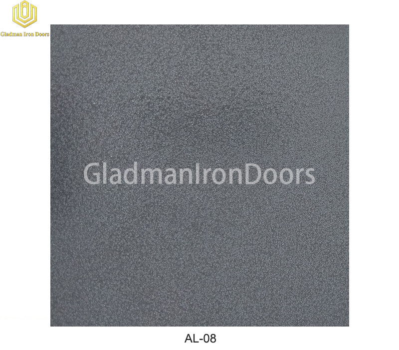Aluminum Exterior Door Hardware AL-08 Option