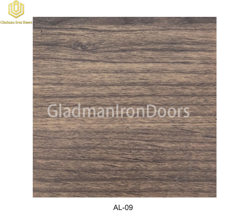 Aluminum Exterior Door Hardware AL-09 Option