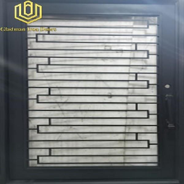 Hot Sales Single Pivot Door Iron Materials /Cheap Price