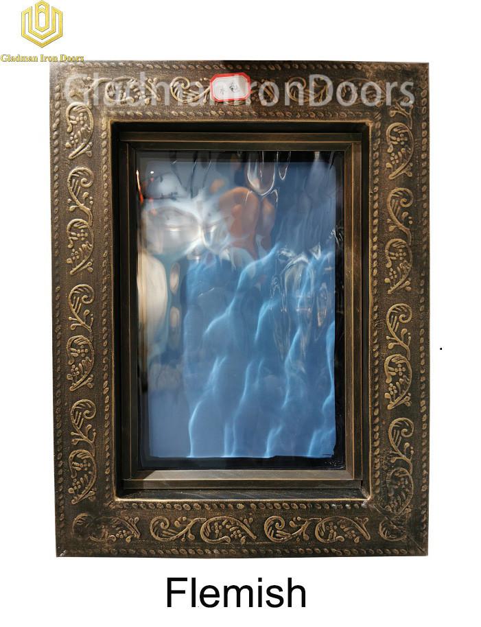 Custom Wrought Aluminum Door Flemish