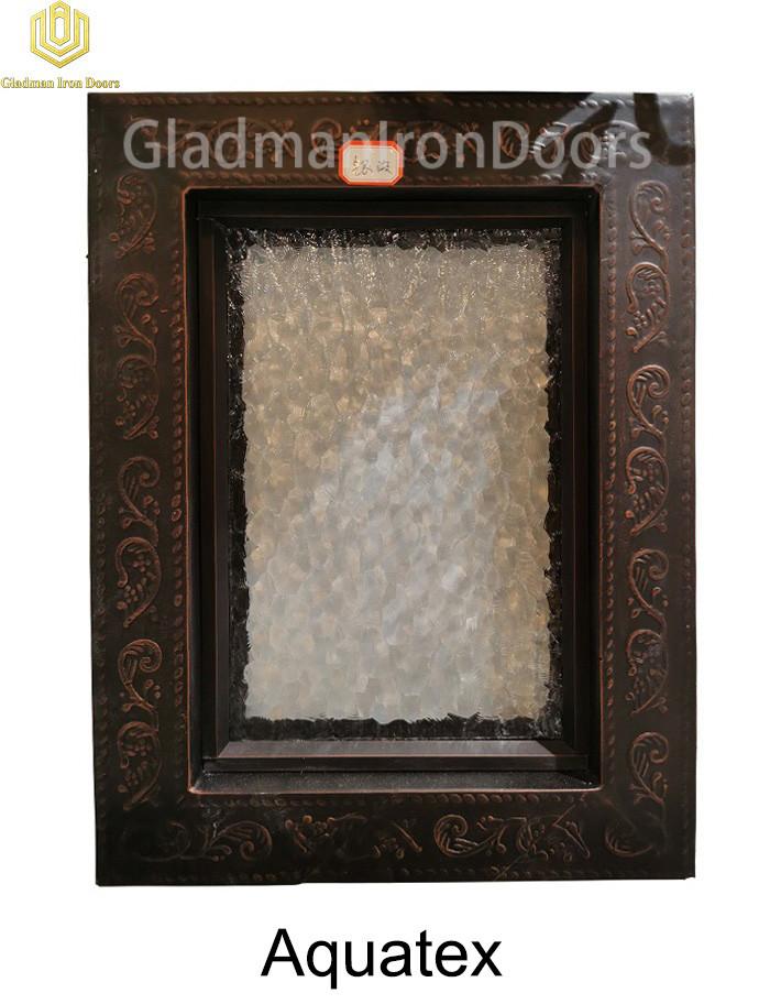 Custom Wrought Aluminum Door  Aquatex