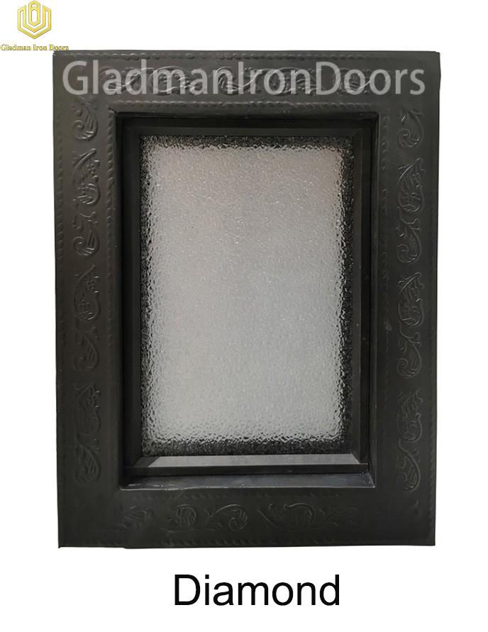 Custom Wrought Aluminum Door  Diamond