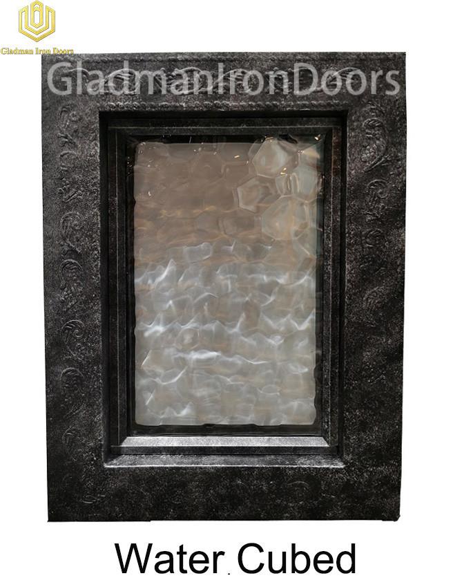 Custom Wrought Iron Door  Water Cubed
