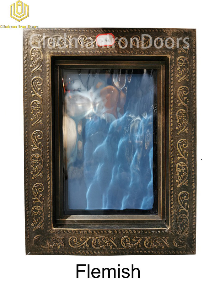 Custom Wrought Iron Door  Flemish