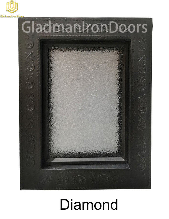 Custom Wrought Iron Door  Diamond