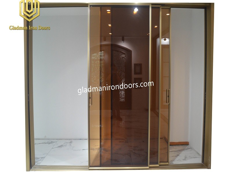New Aluminum Sliding Door  With Glass