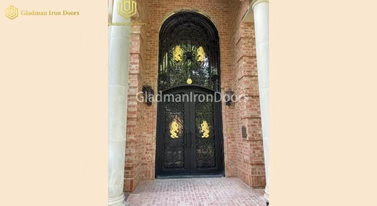 Gladman Iron Doors made in China and cover the international markets