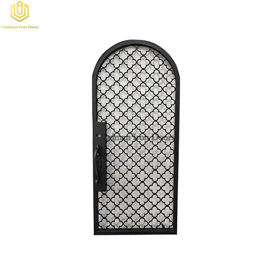 Aluminum Entrance Door Single High Security