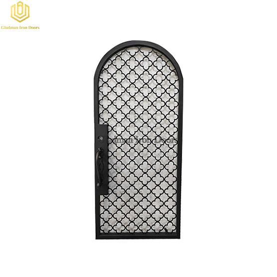 Aluminum Entrance Door Single High Security