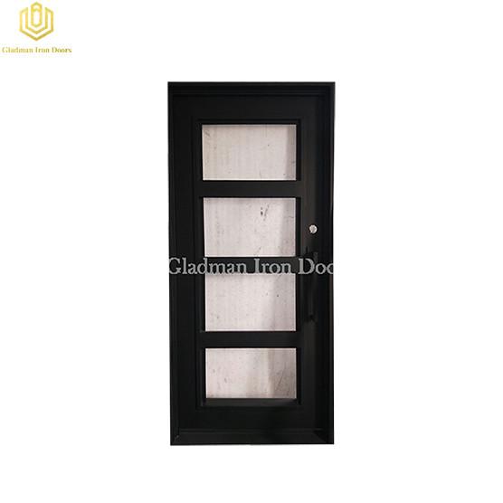 Low cost steel entrance door entrance door room with aluminum door